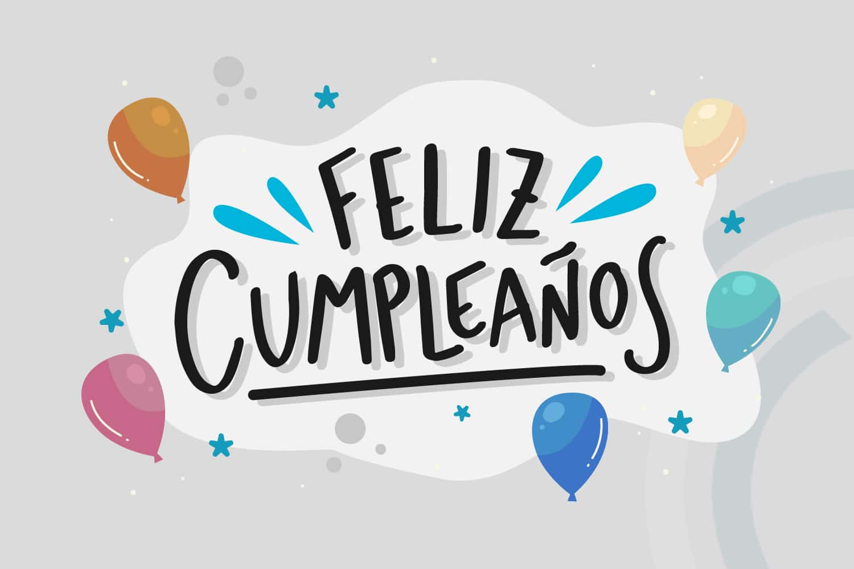 Feliz cumpleaños claro