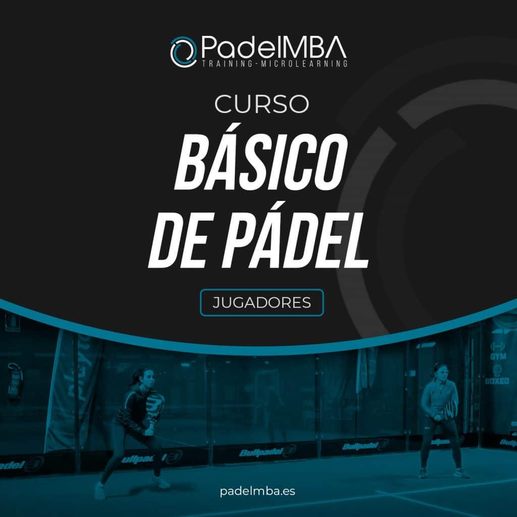 PadelMBA - portada del curso básico de pádel para jugadores