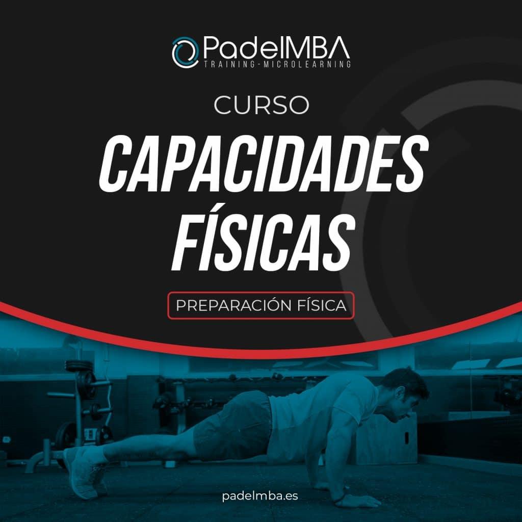 PadelMBA - portada del curso de capacidades físicas para jugadores de pádel