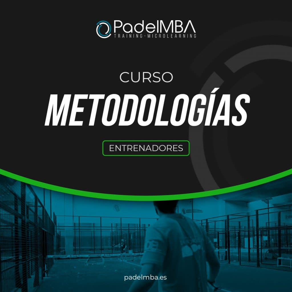 PadelMBA - portada del curso de metodologías para entrenadores de pádel