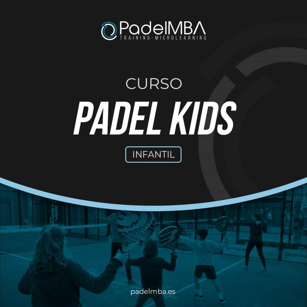 PadelMBA - portada del curso de padel para niños