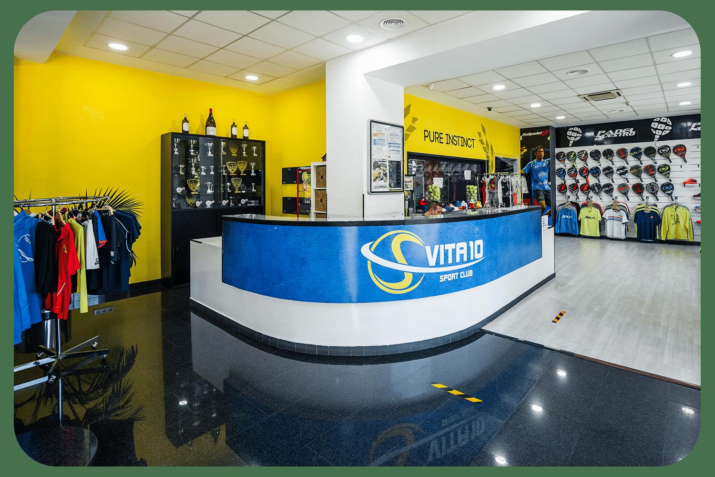 PadelMBA - Vita10 club deportivo tienda