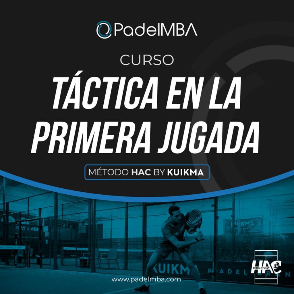 PadelMBA - curso de táctica en la primera jugada de pádel